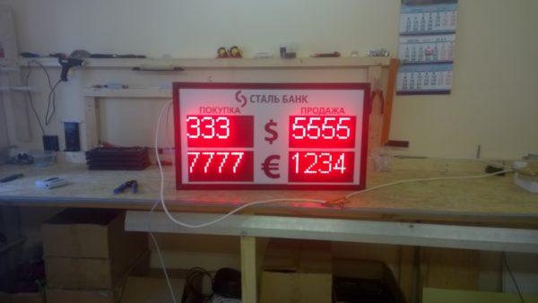табло обмена валют купить