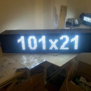 двухсторонняя бегущая строка 101 на 21 см