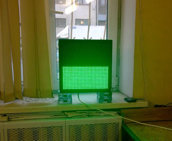 светодиодный светофор для автомойки