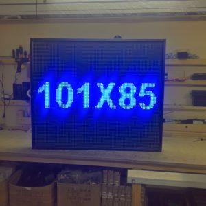 101x85 синяя led строка