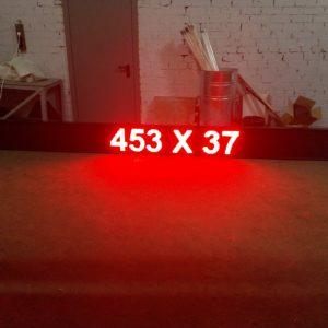453 x 37 красная бегущая строка